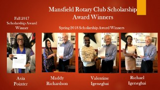 Image of Rotary Club Scholarship Winners