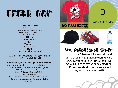 field day flyer