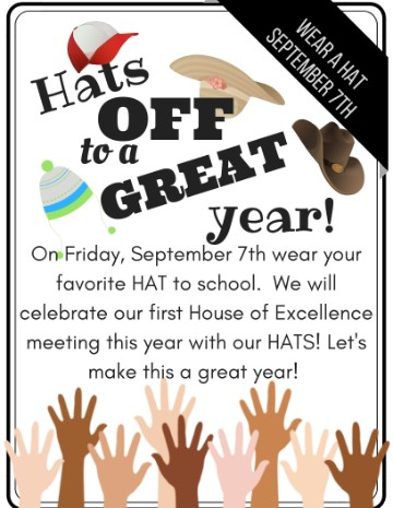 Flyer for Hats off to a great Year